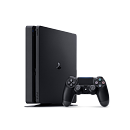 Sony PlayStation 4 Slim, 1TB, Black