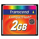 Transcend Compact Flash, 2GB, 133x