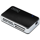 Digitus USB2.0 All-in-one Card Reader, Black