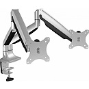 Raidsonic IB-MS504-T, Monitor stand with table support for two monitors up to 32''