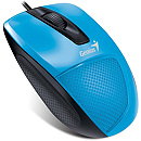 Genius DX-150X, Optical, USB, Blue