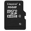 Kingston microSDHC, 16GB, Class 4