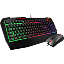 MSI Vigor GK40 Keyboard+Mouse, RGB, ENG, Black
