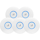 Ubiquiti Unifi Enterprise AC Lite Access Point, 5pack (without PoE adapters)