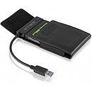 "Raidsonic Icy Box, USB 3.0 adapter cable for 2,5"" SATA HDD with Leatherette box"