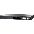CISCO SF220-24P-K9, 24-Port 10/100 PoE Smart Plus Switch