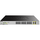 D-Link DGS-1026MP, 24-Port, Desktop Gigabit PoE + 2GE Combo Switch