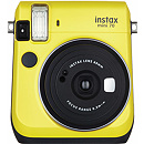 Fujifilm Instax Mini 70, Yellow + Instax mini glossy (10)