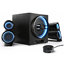 Microlab T10 Gaming Speakers, 2.1, Bluetooth