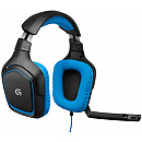 Logitech G430 Gaming Headset, Blue