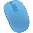 Microsoft Wireless Mobile Mouse 1850, Cyan Blue