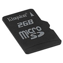 Kingston microSDHC, 32GB, Class 4