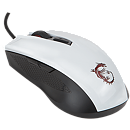 MSI Clutch GM 40 GAMING, Optical, USB, White