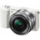 Sony ILCE A5100 + 16-50mm, White