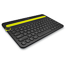 Logitech K480 Bluetooth MultiDevice Keyboard, Black, US