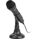 Natec Adder Microphone, Black