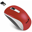 Genius NX-7010, Optical, Wireless, Red