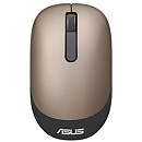 Asus WT205, Optical, Wireless, Gold