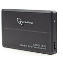 "Gembird EE2-U3S-2 External 2.5"" enclosure, USB3.0, Black"