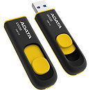 A-Data DashDrive UV128, 16GB, Black/Yellow