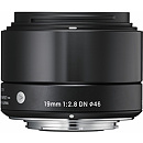 Sigma 19mm F2.8 DN for Sony E-mount, Black [Art]