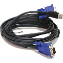 D-Link DKVM-CU, 2in1 USB KVM Cable, 1.8m