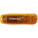 Intenso Rainbow, 64GB, Orange