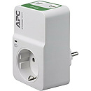 APC PM1WU2-GR SurgeArrest, 1 Socket, White