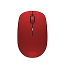 Dell WM126, Wireless, Optical, Red