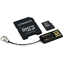 Kingston microSDHC, 16GB, Multi Kit