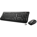 Gigabyte KM7590-USI, Wireless Multimedia Keyboard & Mouse Set, ENG
