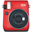Fujifilm Instax Mini 70, Red + Instax mini glossy (10)
