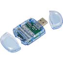 Logilink CR0015B Cardreader USB 2.0 Stick, SD & Micro SD