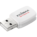 Edimax EW-7722UTN V2 N300 Mini USB Wi-Fi Adapter