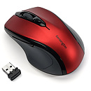 Kensington Pro Fit Wireless Mid-Size Mouse, Ruby Red