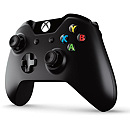 Microsoft Xbox One Wireless/Wired Controller, Black (Xbox & PC)