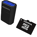 A-Data microSDHC, 16GB, UHS1 + USB Card reader