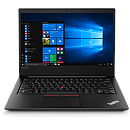 "Lenovo ThinkPad E480 Black, 14"" FHD IPS, Core i3-8130U, 4GB, 256GB SSD, Windows 10 Pro"