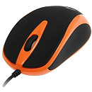 Media-Tech PLANO, Optical, USB, Orange