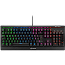Sharkoon Skiller Mech SGK3, RGB, Red Switch, USB, EN