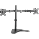 Logilink BP0045, Dual monitor desk stand, 13-32''