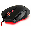 Tacens Mars Gaming MM-1, Optical, USB, Black