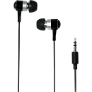 Logilink HS0015, Stereo In-Ear Earphone, Black