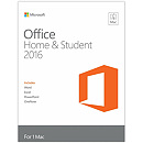 Microsoft Office for Mac Home & Student 2016, Russian