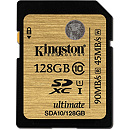 Kingston SDXC, 128GB, Class 10 UHS-I
