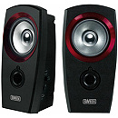 Sweex SP041, 2.0, USB, Black/Red
