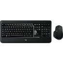 Logitech MX900 Wireless Performance Keyboard + Mouse, ENG, Black