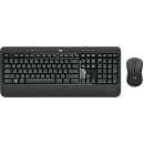 Logitech MK540 Wireless Keyboard + Mouse, RU, Black