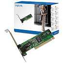 Logilink PC0039, PCI card 10/100 LAN MBit REALTEK chip