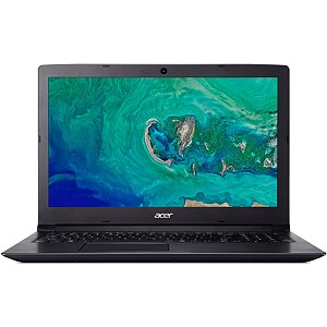 "Acer Aspire 3 A315-33 Black, 15.6"" HD, Celeron N3060, 4GB, 500GB, Windows 10 Home"